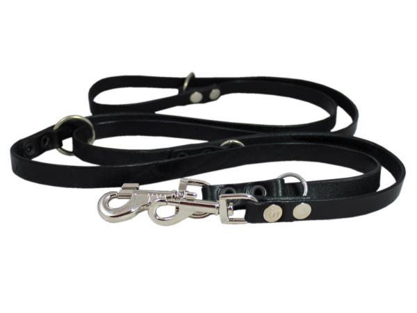 Adjustable Leather Hands Free Lead 49