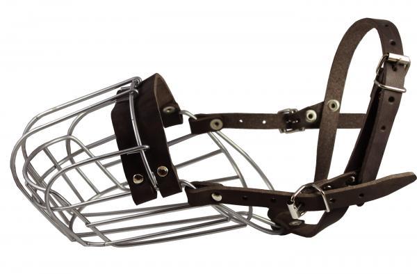 Metal Wire Basket Dog Muzzle 14