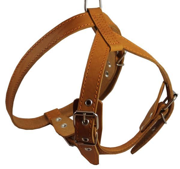 Genuine Leather Dog Harness 25