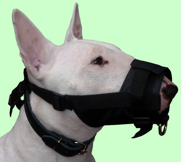 Nylon Dog Muzzle Adjustable